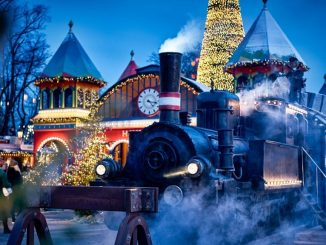 Denmark Christmas Tivoli Gardens